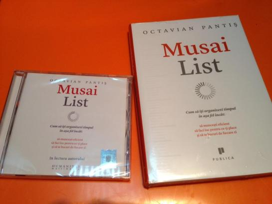 Musai List carte si audiobook